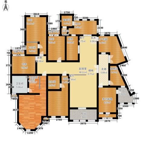中隆国际御玺5室0厅4卫1厨246.00㎡户型图