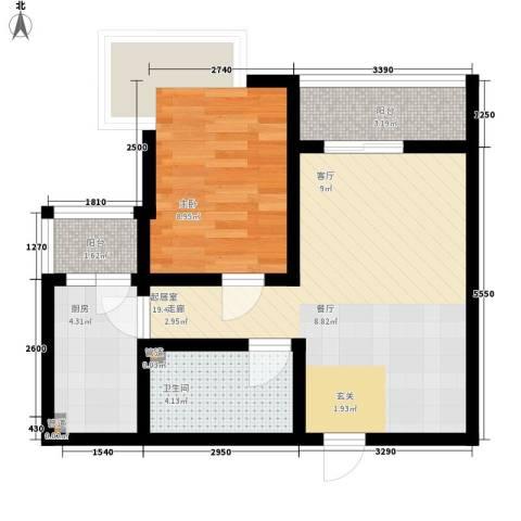 国宾豪庭1室0厅1卫1厨144.00㎡户型图