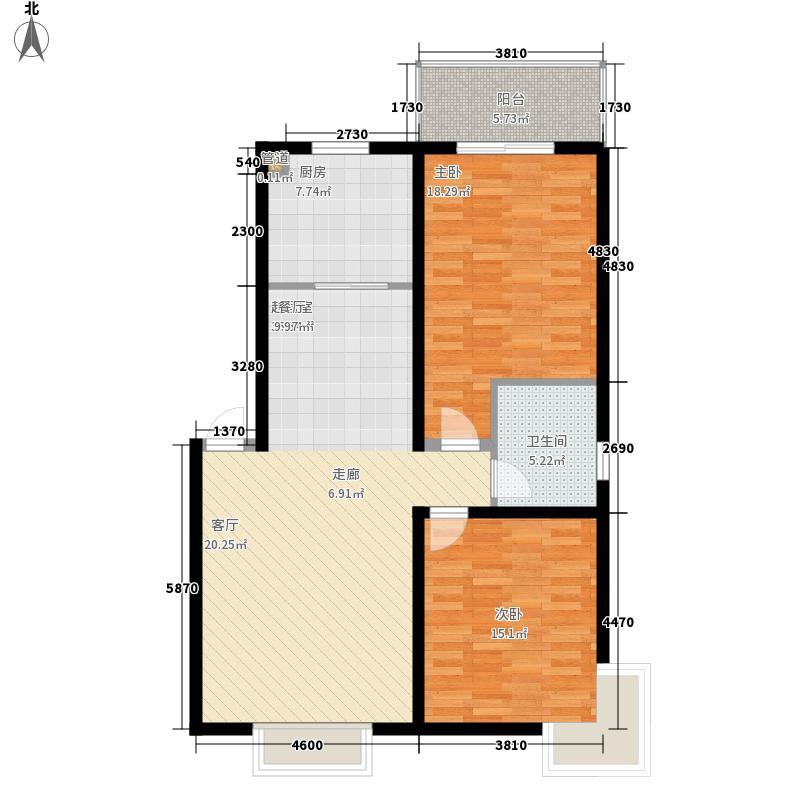 东林天府2室2厅1卫