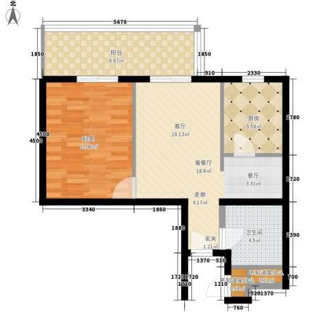 3511厂家属院1厅1卫1厨108.00㎡户型图