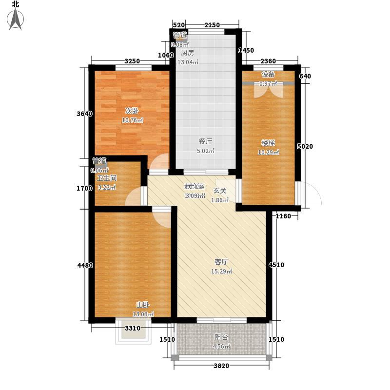 水木兰亭88.76㎡水木兰亭88.76㎡户型10室
