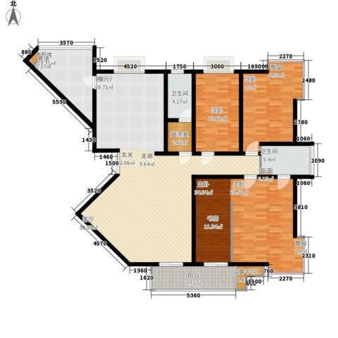名人国际 TOP世界观3室1厅2卫1厨225.00㎡户型图