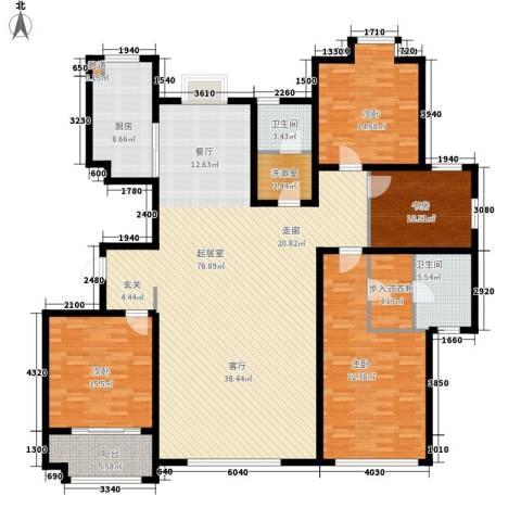金辰富海广场4室0厅2卫1厨190.00㎡户型图
