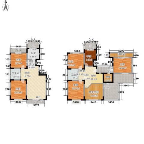 名仕达花园6室0厅2卫1厨248.00㎡户型图