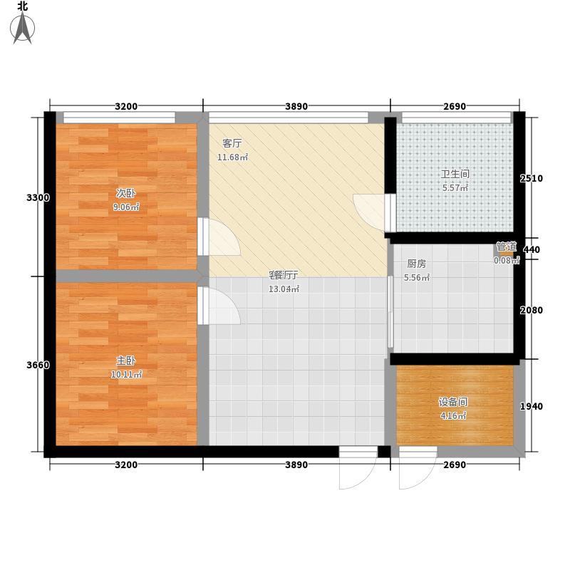 万宏花园酒店式公寓A1户型