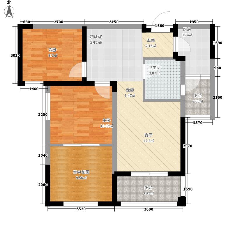 天洁国际城-华沙城房型图B09户型
