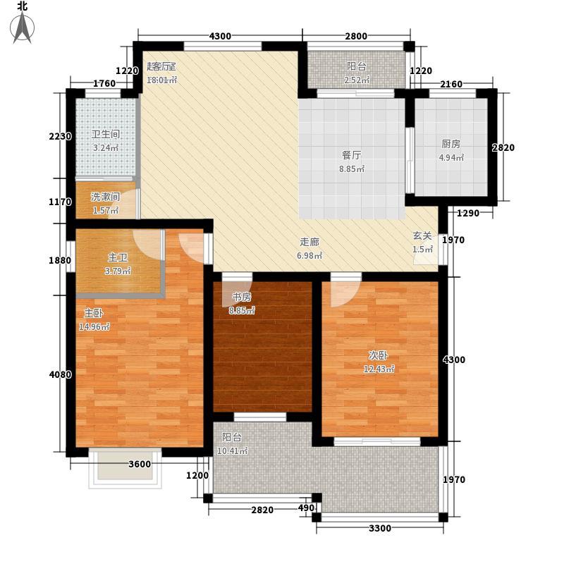 天洁国际城-华沙城房型图A07户型