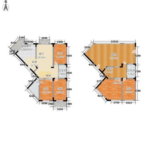 名仕达花园5室0厅3卫0厨249.73㎡户型图