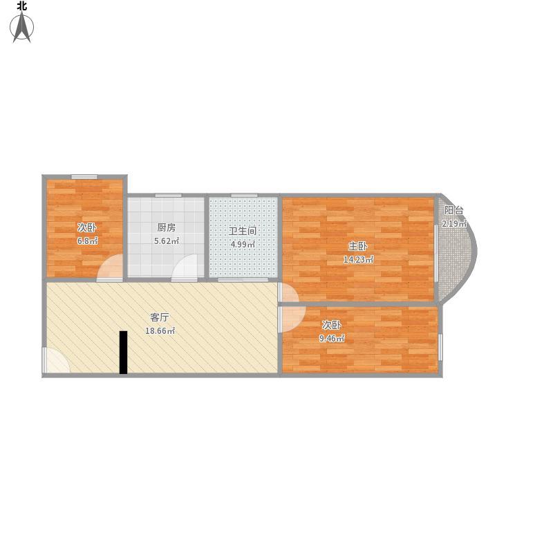 我的设计帝景峰、3栋31F