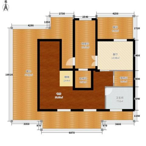 锦绣公馆1室1厅1卫0厨205.00㎡户型图