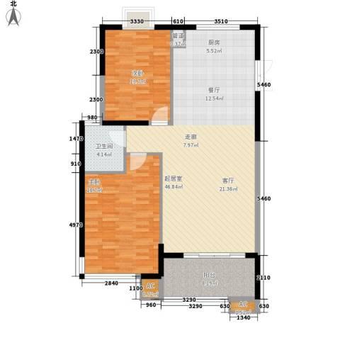 宏泽佳园2室0厅1卫0厨103.00㎡户型图
