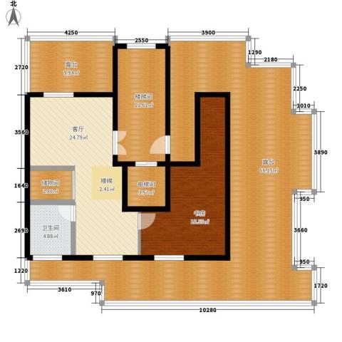 锦绣公馆1室1厅1卫0厨204.00㎡户型图