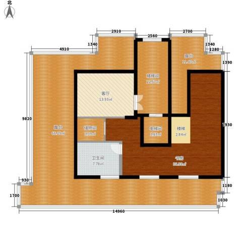 锦绣公馆1室1厅1卫0厨221.00㎡户型图