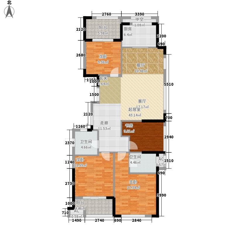 海星御和园138.00㎡D区7号楼D户型
