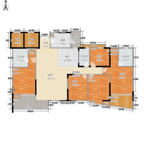 君汇世家5室0厅3卫1厨226.00㎡户型图