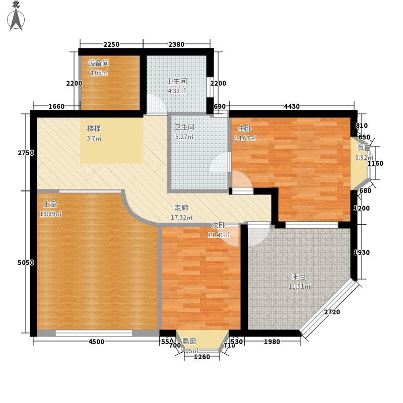 祥和御馨园169.80㎡D1型(上)面积16980m户型
