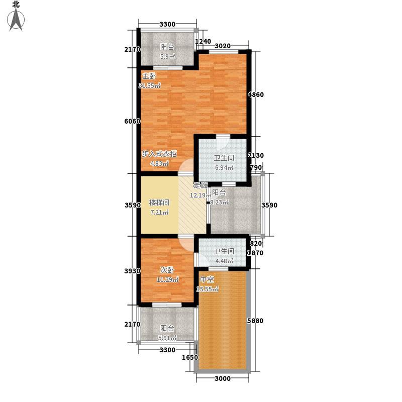 三利宅院福邸330.00㎡A型三层面积33000m户型