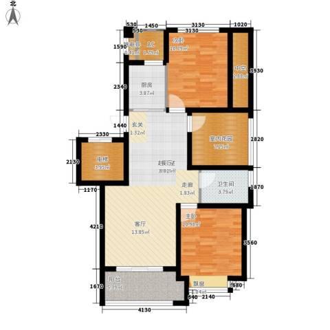 苏纶里2室0厅1卫1厨90.00㎡户型图