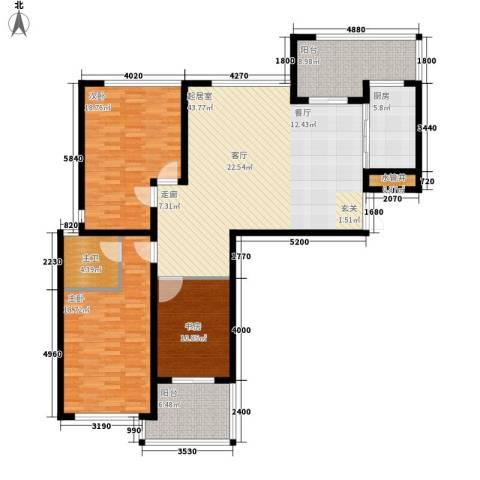 苏纶里3室0厅0卫1厨134.00㎡户型图