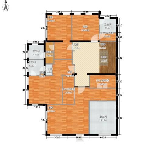 绿城慈溪玫瑰园4室0厅5卫0厨211.00㎡户型图