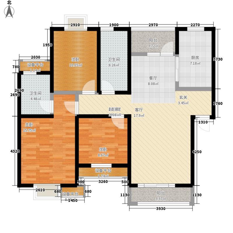 禾盛花苑112.40㎡一期1、6、7号楼面积11240m户型