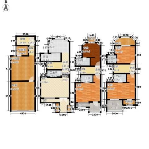 万盛家园4室0厅5卫1厨241.00㎡户型图