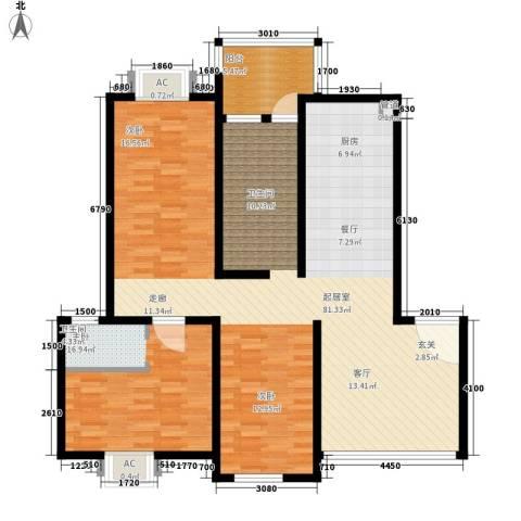 西湖景园1室0厅0卫0厨153.00㎡户型图