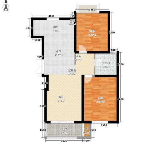 鸿运家园2室0厅1卫0厨93.00㎡户型图