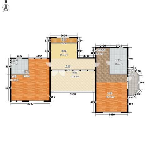 华润中央公园2室1厅2卫0厨259.00㎡户型图
