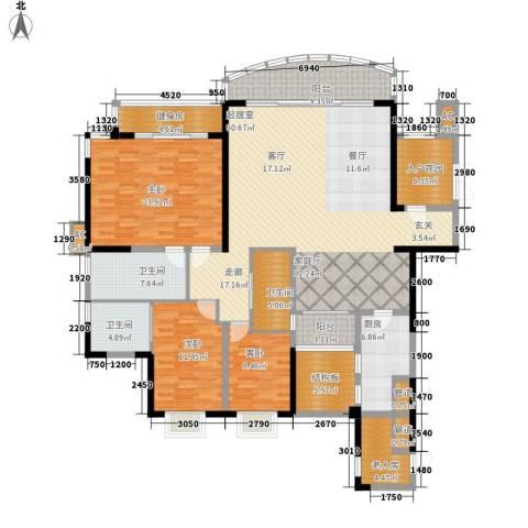 嘉年华国际社区4室0厅3卫1厨188.00㎡户型图