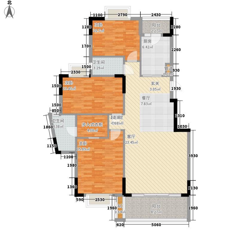 保利林海山庄125.26㎡阅林苑11栋面积12526m户型