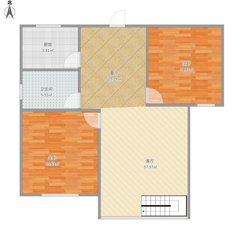 慧竹丽景1楼2室