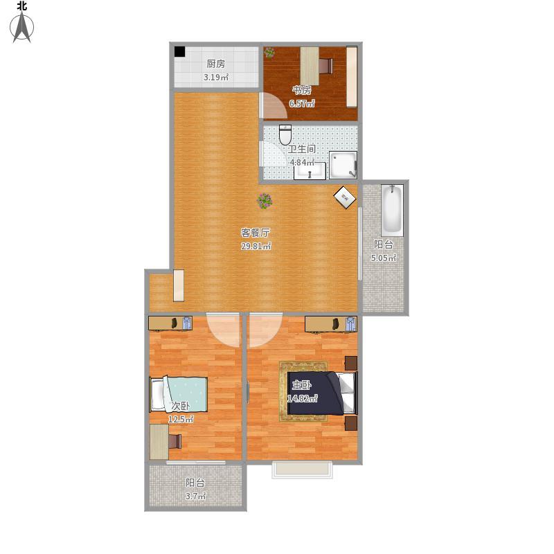 我的设计-5楼设计