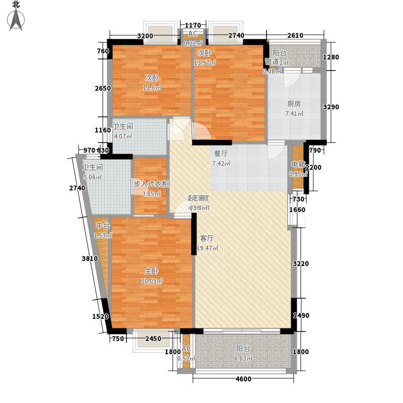 保利林海山庄133.43㎡12栋1-34号面积13343m户型