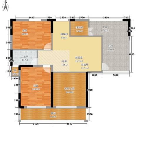 青园小区2室0厅1卫0厨225.00㎡户型图