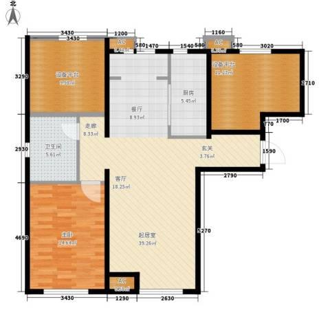 假日盈润园1室0厅1卫1厨98.00㎡户型图