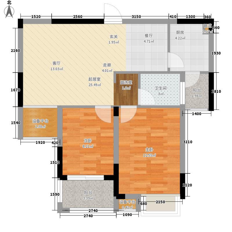 加州香山美树89.00㎡高层23-30号面积8900m户型