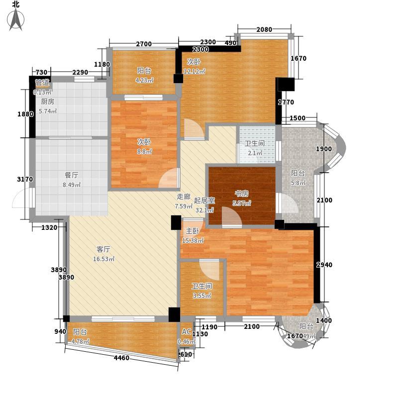 西城龙庭7#13#楼F1户型