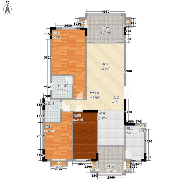 大运家园140.32㎡5栋B/C座6栋G座面积14032m户型