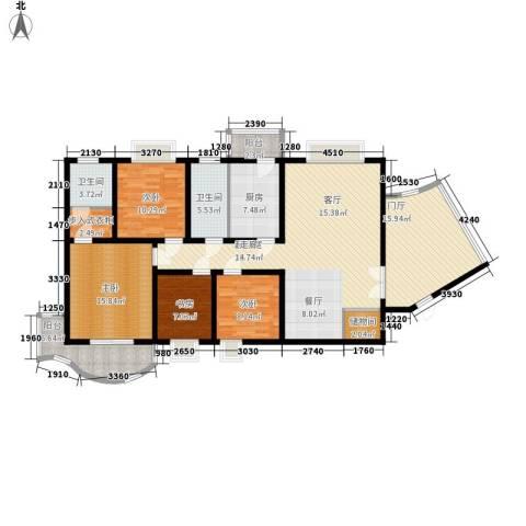 旭景名园4室0厅2卫1厨179.00㎡户型图
