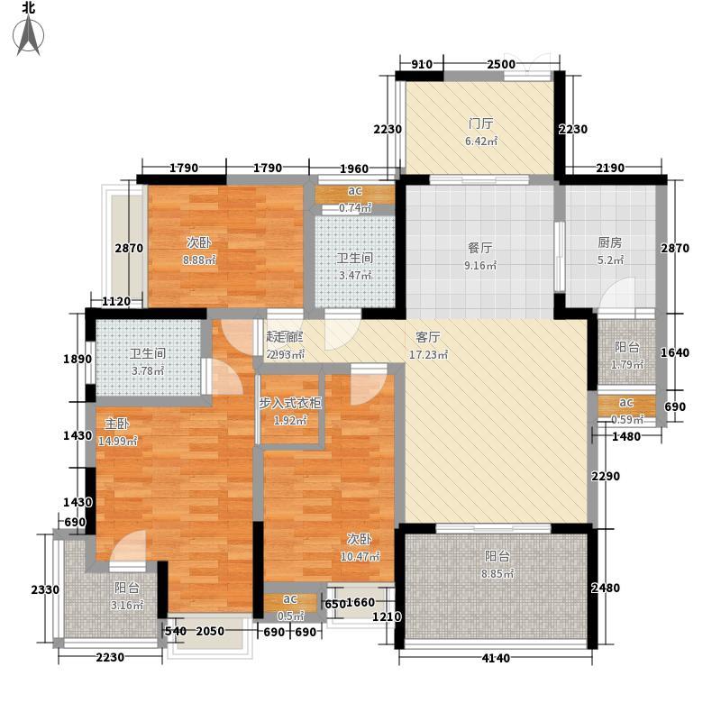 协信天骄城119.40㎡二期2号楼标准面积11940m户型