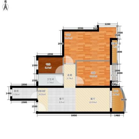 齐庆楼3室0厅1卫1厨107.00㎡户型图