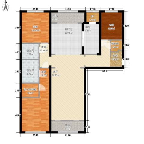 伊泰CEO国际中心3室0厅2卫1厨175.00㎡户型图