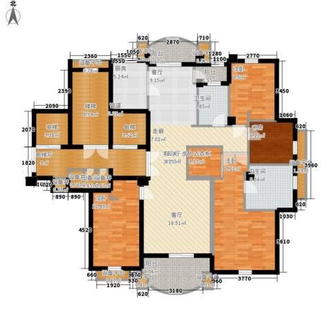 维科龙湾府4室1厅2卫1厨168.00㎡户型图
