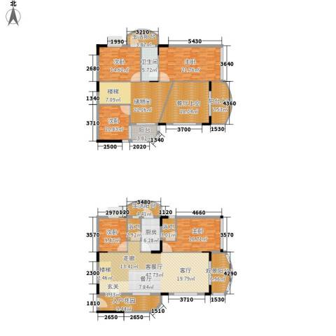 丽湾花园5室1厅1卫1厨239.00㎡户型图