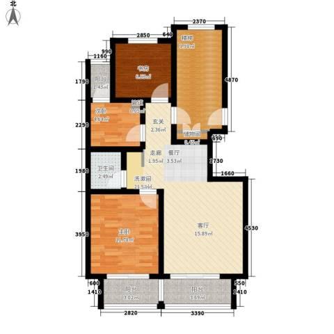 嘉兴花园3室0厅1卫0厨103.00㎡户型图