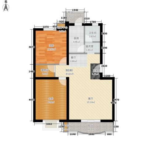 质检局家属院2室1厅1卫1厨105.00㎡户型图