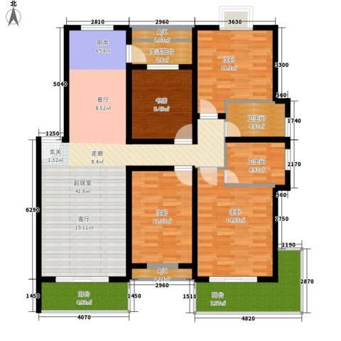 御景庄园4室0厅2卫0厨164.00㎡户型图
