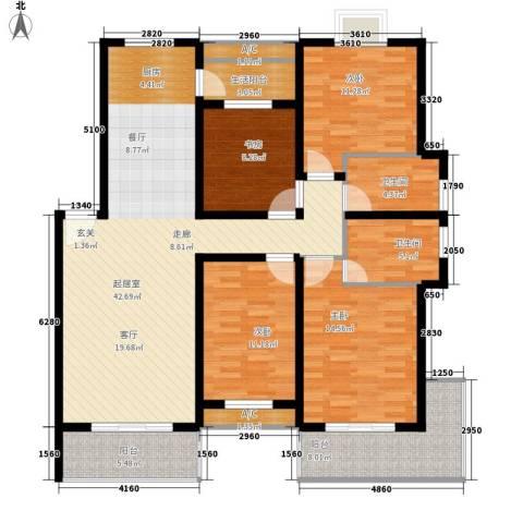 御景庄园4室0厅2卫0厨167.00㎡户型图