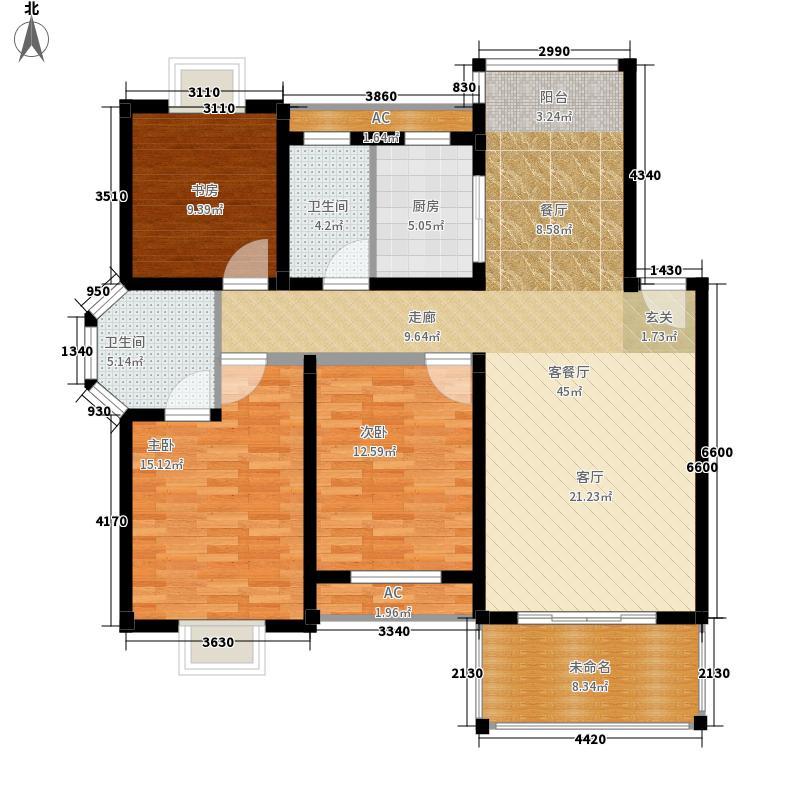 圣地雅格124.00㎡一期多层9#楼4层G2户型
